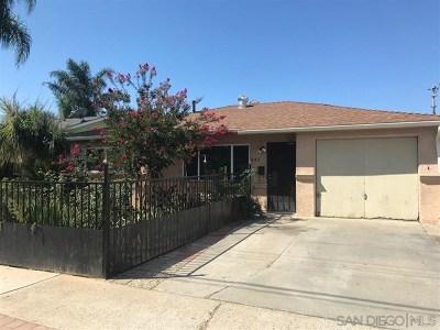 Escondido Single Family Home For Sale: 943 Gamble Street