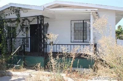 San Diego Single Family Home For Sale: 2143 Everett Ave