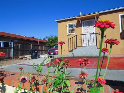 San Diego Single Family Home For Sale: 3711 46th Street