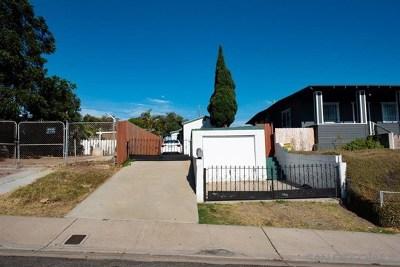 San Diego Single Family Home For Sale: 2015 Osborn St