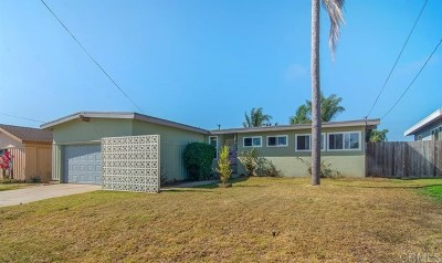 Imperial Beach Single Family Home For Sale: 330 Donax Ave