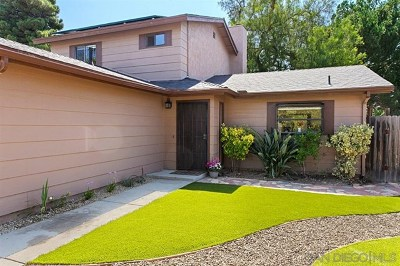 Escondido Single Family Home For Sale: 1923 Privado Glen