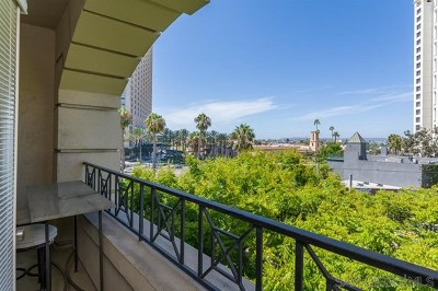 San Diego Condo/Townhouse For Sale: 655 India Street #324