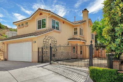 El Cajon Single Family Home For Sale: 700 Silverbrook Dr