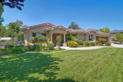 Fallbrook Single Family Home For Sale: 3218 Staghorn Court
