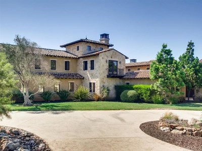 Fallbrook Single Family Home For Sale: 17 Gateview Dr