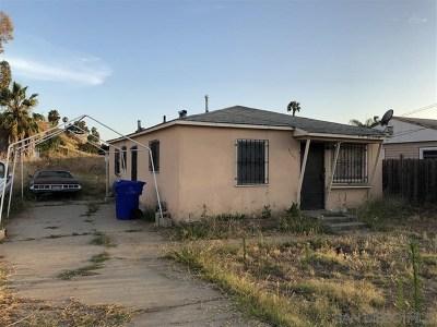 San Diego Single Family Home For Sale: 5231 Geneva Ave