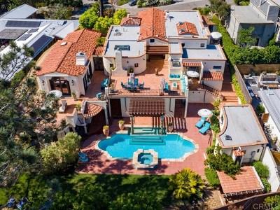 Del Mar CA Single Family Home For Sale: $7,995,000