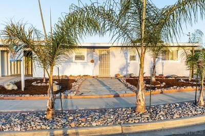Imperial Beach Single Family Home For Sale: 1427 Adelfa Ct.