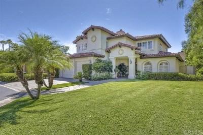 Rancho Santa Fe Single Family Home For Sale: 15474 Pimlico Corte