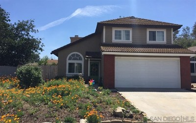 Escondido Single Family Home For Sale: 1013 Glenwood Way