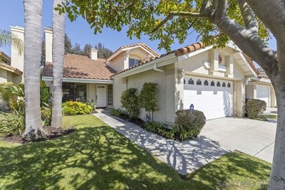 San Diego Single Family Home For Sale: 10677 Wallingford Rd