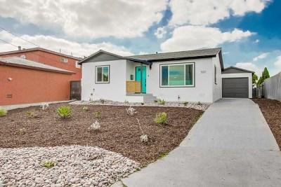 San Diego Single Family Home For Sale: 5211 San Bernardo Ter