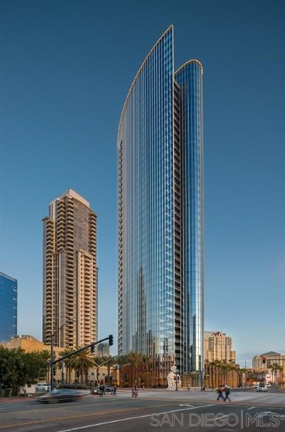 San Diego Condo/Townhouse For Sale: 888 W E Street #2202