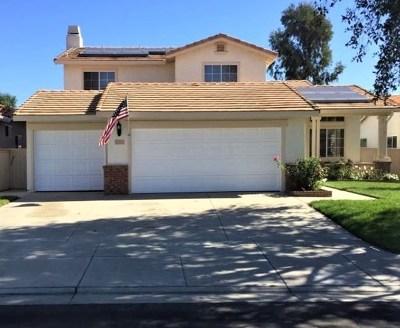 Temecula CA Single Family Home For Sale: $525,000
