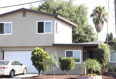 Chula Vista Single Family Home For Sale: 422 E Oxford