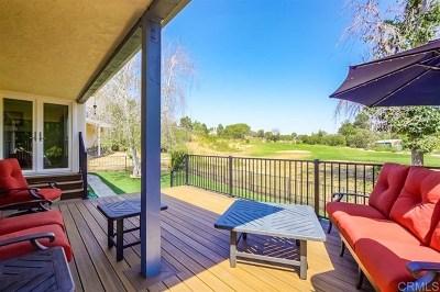 Escondido Single Family Home For Sale: 10527 E Meadow Glen Way