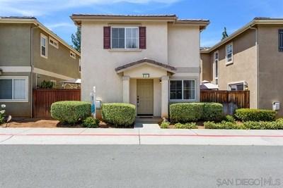 Escondido Single Family Home For Sale: 633 Janae Gln