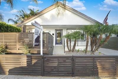 San Diego Single Family Home For Sale: 3711 Bancroft