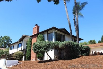 Vista Single Family Home For Sale: 931 Alta Vista Ter
