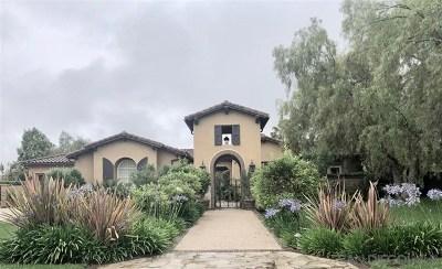 San Diego Single Family Home For Sale: 17169 Castello Circle