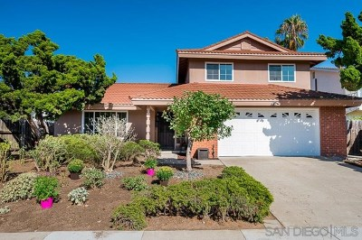 San Diego Single Family Home For Sale: 5335 Cloud Way