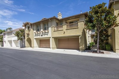 San Diego CA Condo/Townhouse For Sale: $679,000