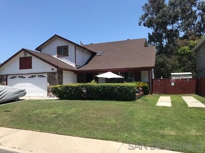San Diego Single Family Home For Sale: 6708 Tuxedo Rd.