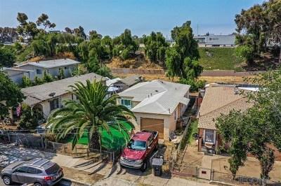 San Diego Single Family Home For Sale: 3673 Birch Street