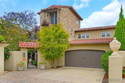 San Diego Single Family Home For Sale: 8169 Santaluz Village Green S