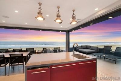 San Deigo, San Diego, San Diego/north Pacific Beach Single Family Home For Sale: 3879 Ocean Front Walk