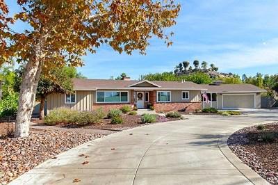 El Cajon Single Family Home For Sale: 1807 Granite Hills Dr