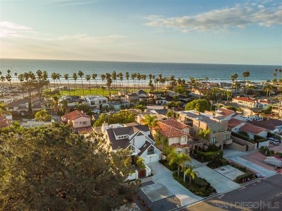 La Jolla Single Family Home For Sale: 8352 La Jolla Shores Dr