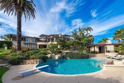 La Jolla Single Family Home For Sale: 5833 Rutgers