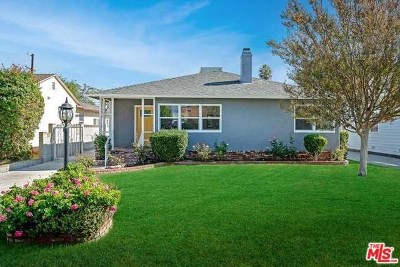 Van Nuys Single Family Home Active Under Contract: 5816 Columbus Avenue