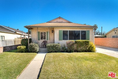 Van Nuys Single Family Home For Sale: 7822 Stansbury Avenue