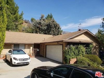 Tujunga Single Family Home For Sale: 6629 Elmhurst Drive