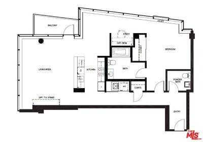 Los Angeles Condo/Townhouse For Sale: 1155 S Grand Avenue #716