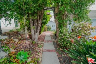 Santa Barbara County Multi Family Home For Sale: 610 Maple Avenue