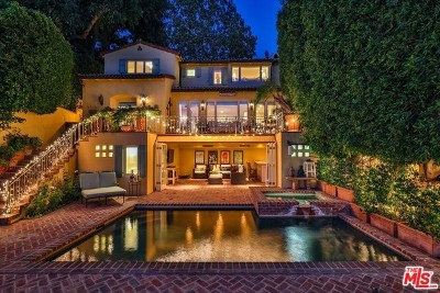 Toluca Lake CA Single Family Home For Sale: $5,295,000