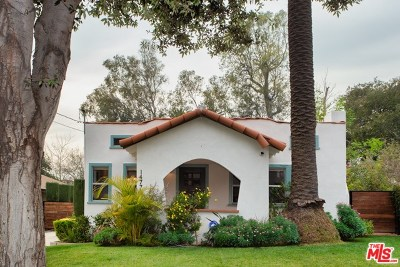 Pasadena Single Family Home Active Under Contract: 1477 N Catalina Avenue