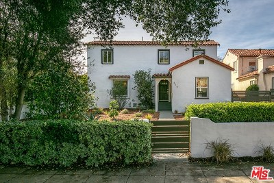 Pasadena Single Family Home For Sale: 815 Manzanita Avenue