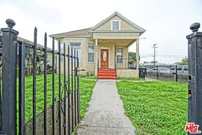 Los Angeles Single Family Home For Sale: 800 E 27th Street