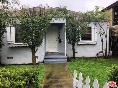 Venice Single Family Home For Sale: 708 Machado Drive