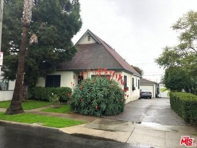 Venice Single Family Home For Sale: 712 Machado Drive