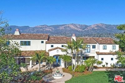 Santa Barbara County Single Family Home For Sale: 842 Miramonte Drive