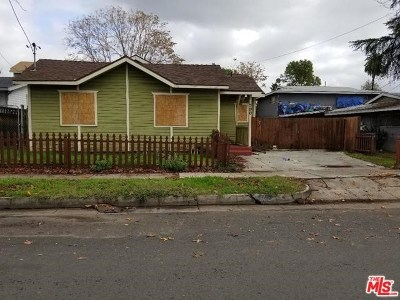 Pasadena Single Family Home For Sale: 790 Worcester Avenue