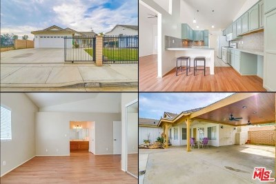 Perris Single Family Home For Sale: 23247 Wildwood Lane