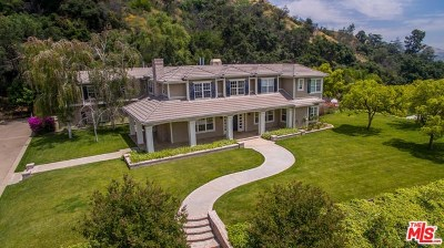 Glendora Single Family Home For Sale: 1170 N Easley Canyon Road