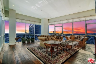Los Angeles Condo/Townhouse For Sale: 3785 Wilshire #PH-1
